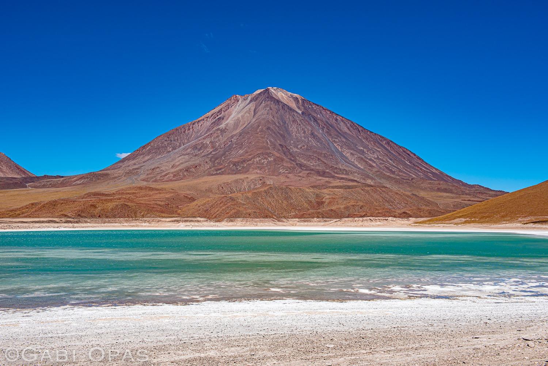 Laguna Verde Mountain in Bolivia