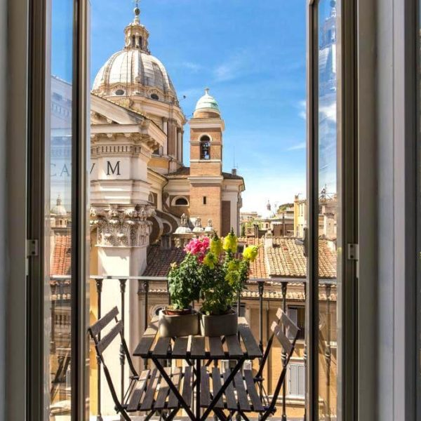colibri-view from hotel rome italy