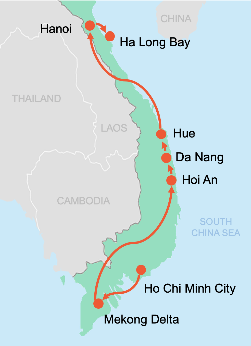 Colibri-Vietnam tours