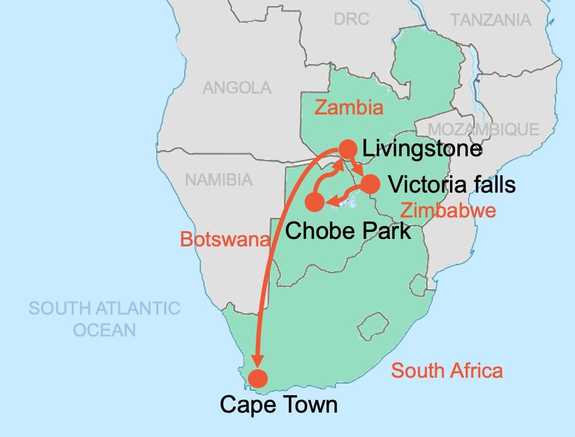 Colibri-Zambia-Botswana-Zimbabwe-South-Africa