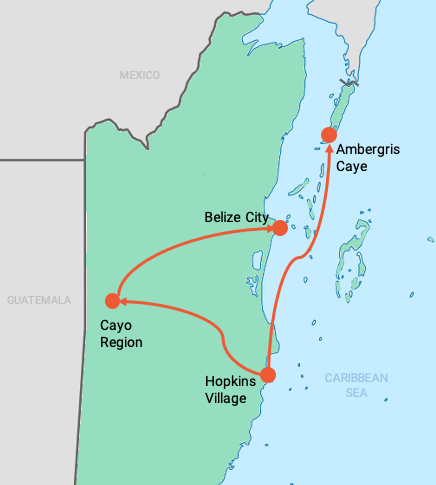 colibri-belize-map