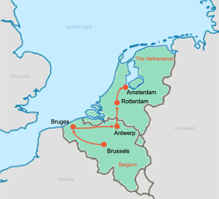 Colibri-Students-Map-Belgium-Netherlands