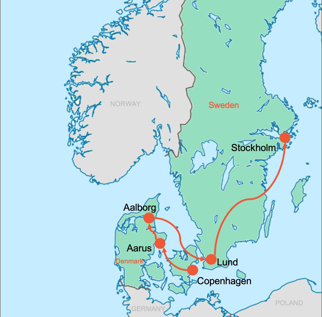 Colibri-Students-Map-Denmark-Sweden